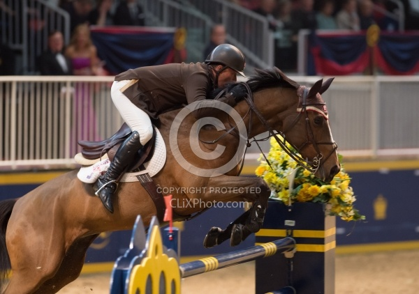 Todd Minikus and Quality Girl,RAWF 2014, Hickstead FEI World Cup