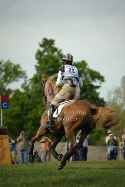 Lauren Kieffer and Snooze Alarm Rolex 2010 Equine Athlete