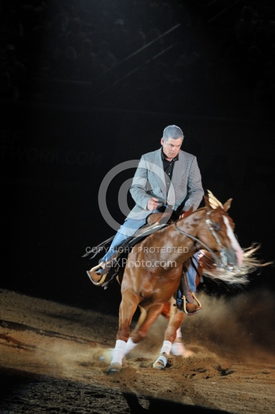 Shane Brown and Houston Shine Ariat Kentucky Reining Cup Freestyle