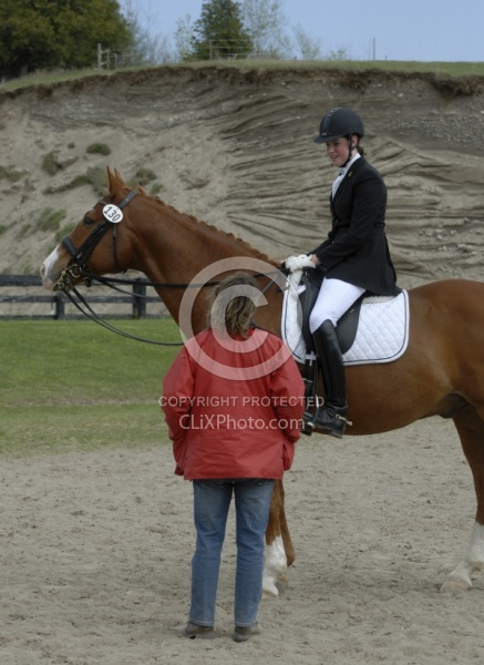 Dressage Instructor at show