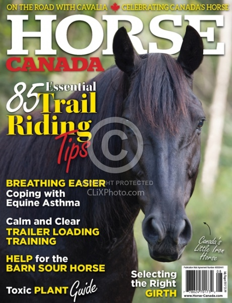Horse Canada July August 2017 Cover