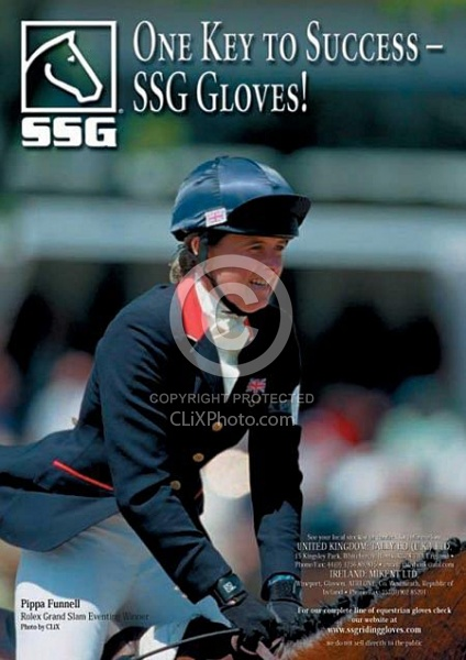 SSG Ad for British Eventing