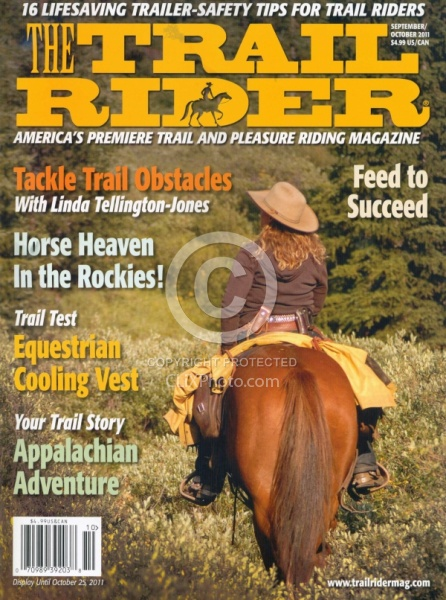 The Trail Rider Sept  Oct 2011 Cover