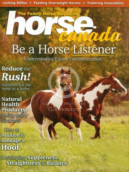 Horse Canada Sept Oct 2013 Cover