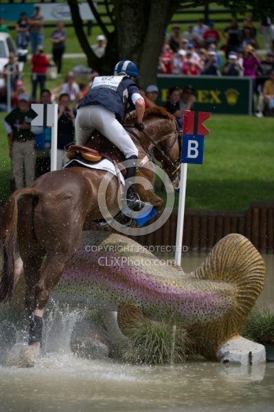 Karen O Connor and Mr. Medicott Rolex 2012 Hind legs in Action