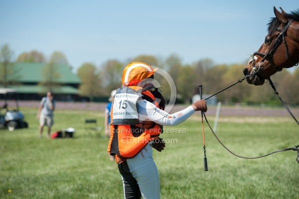 Sharon White and Rafferty's Rules take a fall at Rolex 2014