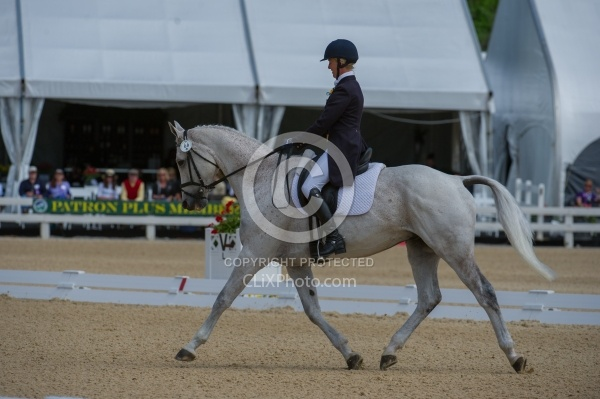 Jolie Wentworth and Killian O Connor Selle Francais Rolex 2012