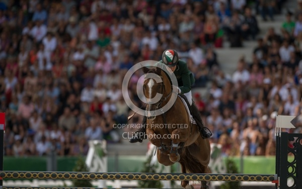 Aoife Clark IRL and Fenyas Elegance Eventing Show Jumping WEG 2