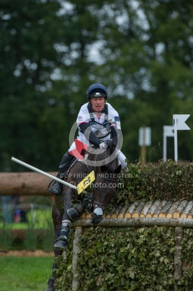 Oliver Townend and Black Tie WEG 2014 Normandy, France