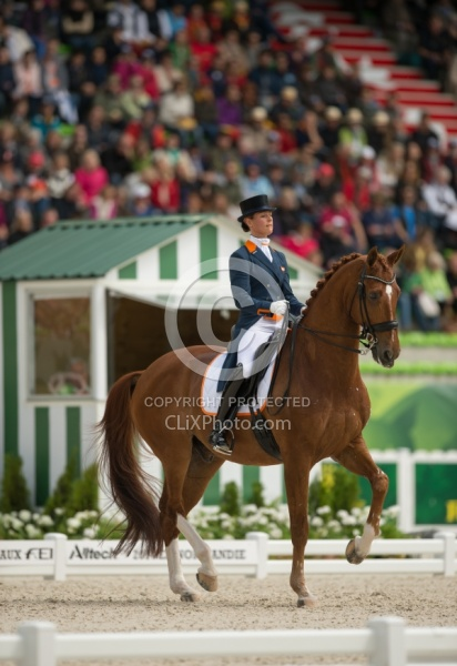 Adelinde Cornelissen and Jerich Parzival N.O.P. Team grand Prix