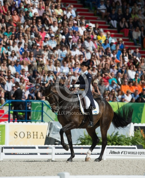 Tinne Vilhelmson Silfver and Don Auriello Grand Prix Freestyle W