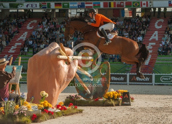 Jeroen Dubbeldam and Zenith SFN WEG 2014 Normandy, France